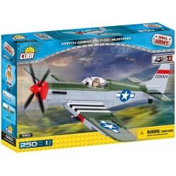 KLOCKI COBI SAMOLOT NORTH AMERICAN P-51C MUSTANG