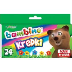 Kredki BAMBINO 24 kolory