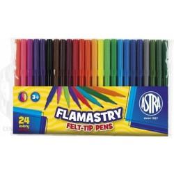 ASTRA flamastry FELT-TIP PENS 24 kolory