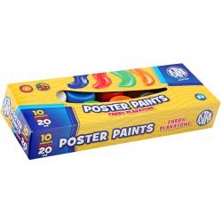 ASTRA Farby plakatowe 10 kolorów