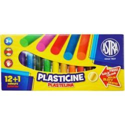 ASTRA Plastelina 12+1 kolorów
