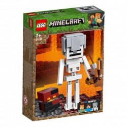 LEGO MINECRAFT 21150 SZKIELET Z KOSTKĄ