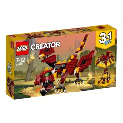 LEGO CREATOR 31073 MITYCZNE STWORZENIA